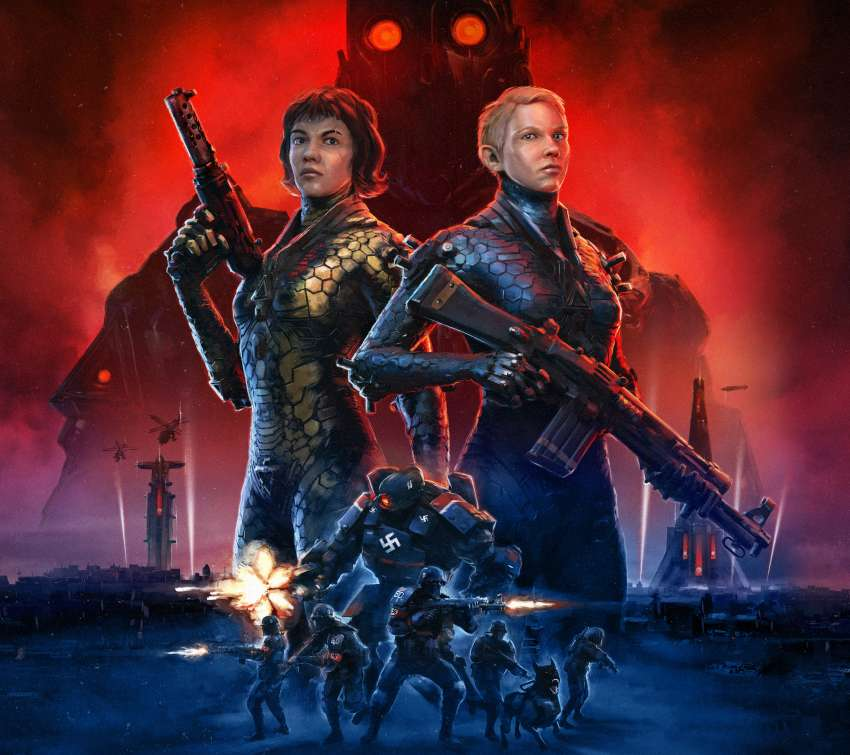 Wolfenstein: Youngblood Mobile Horizontal fond d'écran