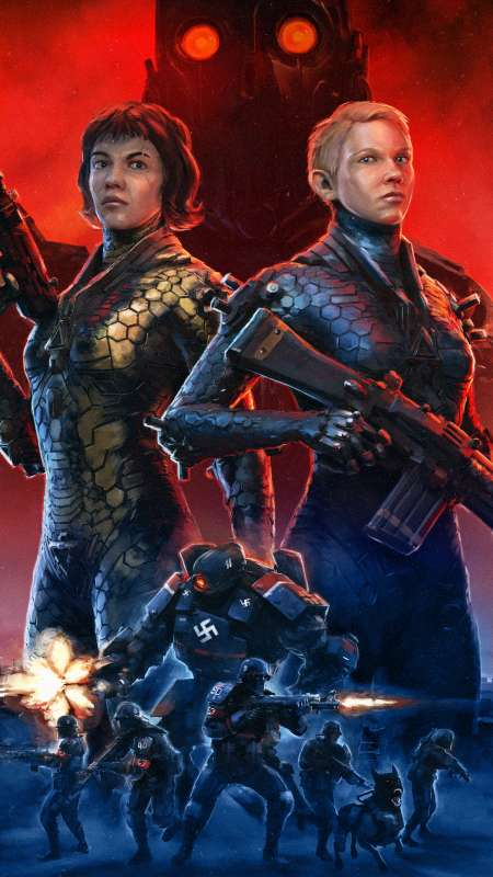 Wolfenstein: Youngblood Mobile Vertical fond d'écran