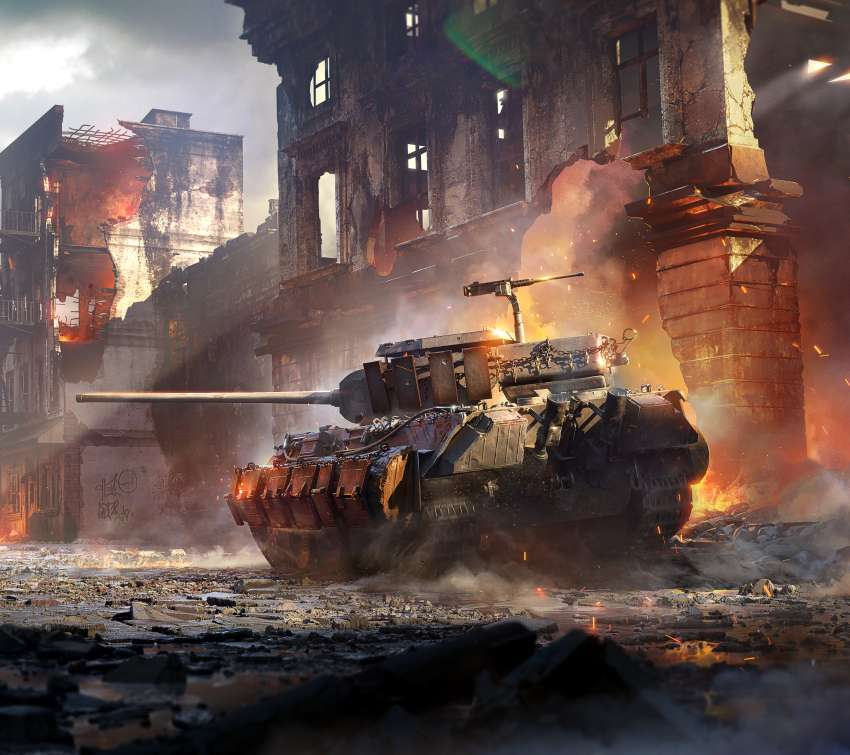 World of Tanks: Mercenaries Mobile Horizontal fond d'écran