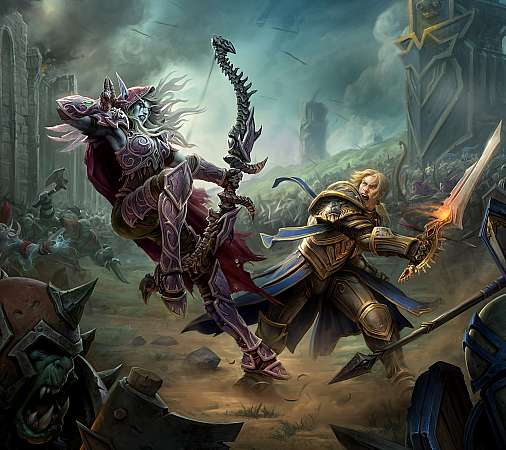 World of Warcraft: Battle for Azeroth Mobile Horizontal fond d'écran