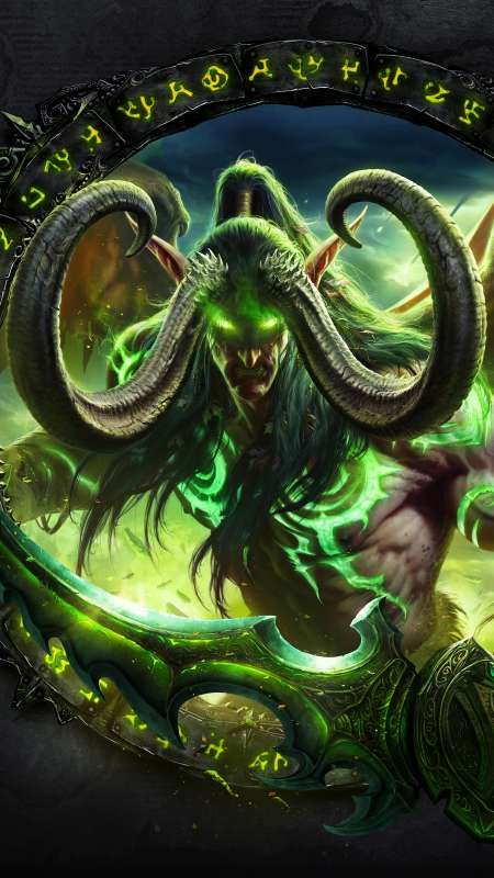 World of Warcraft: Legion Mobile Vertical fond d'écran