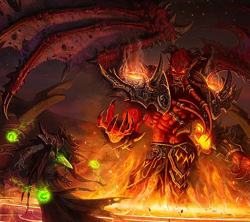 World of Warcraft: The Burning Crusade Mobile Horizontal fond d'écran