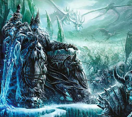 World of Warcraft: Wrath of the Lich King Mobile Horizontal fond d'écran