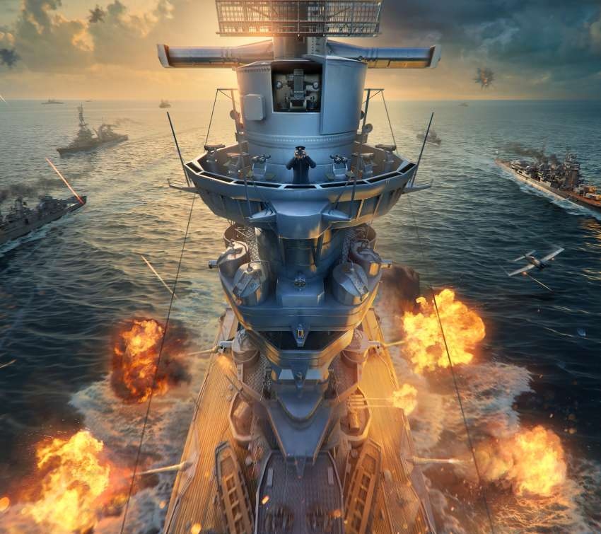 World of Warships Mobile Horizontal fond d'écran