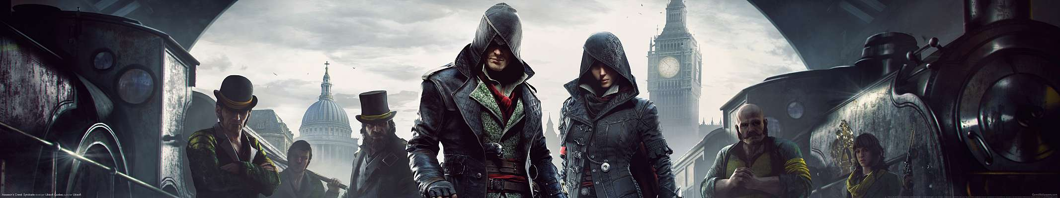 Assassin's Creed: Syndicate triple screen fond d'écran