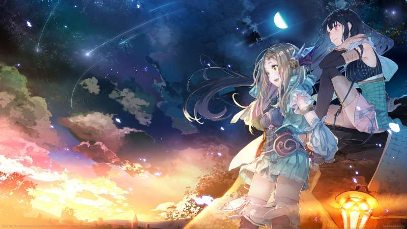 Atelier Firis: The Alchemist and the Mysterious Journey fond d'écran