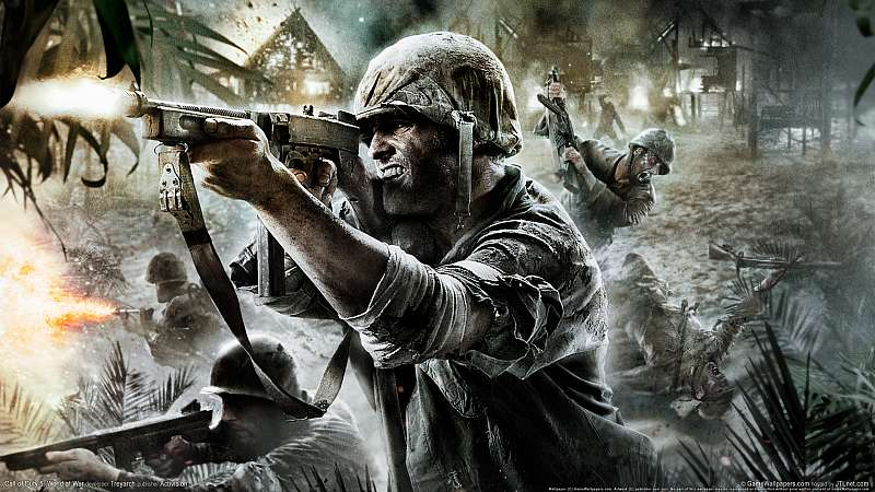 Call of Duty 5: World at War fond d'écran