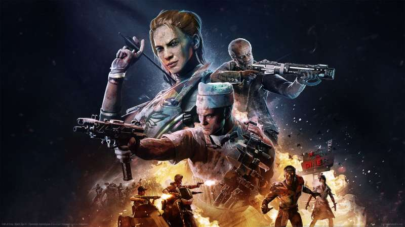 Call of Duty: Black Ops 4 - Operation Apocalypse Z fond d'écran