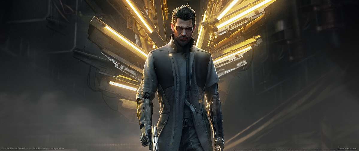 Deus Ex: Mankind Divided ultrawide fond d'écran 18
