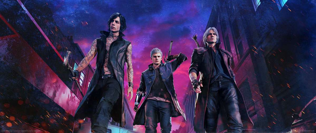 Devil May Cry 5 fond d'écran