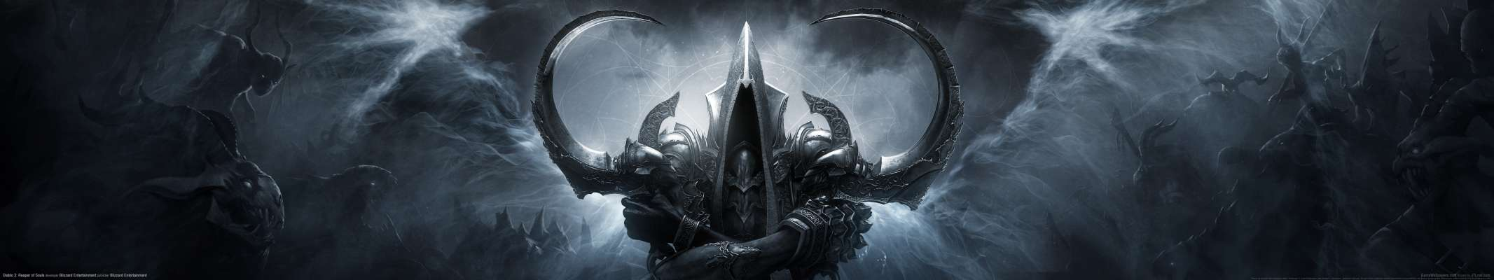 Diablo 3: Reaper of Souls triple screen fond d'écran