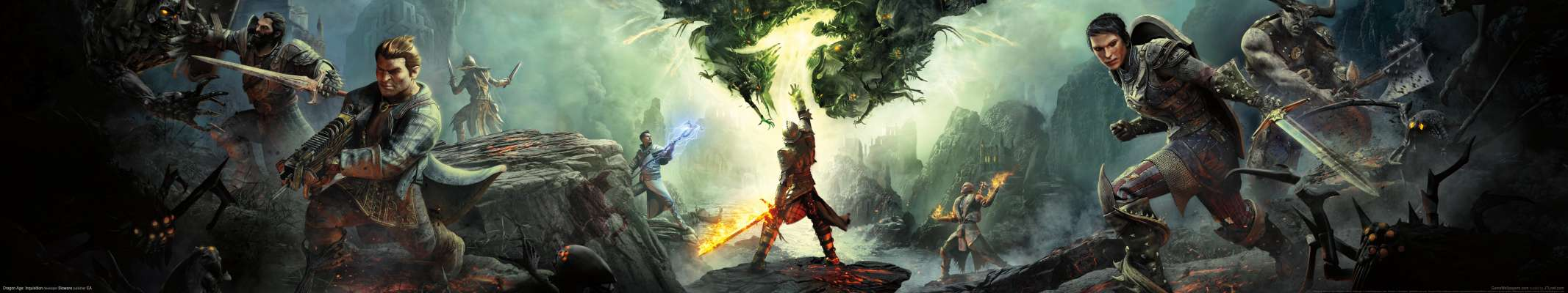 Dragon Age: Inquisition triple screen fond d'écran
