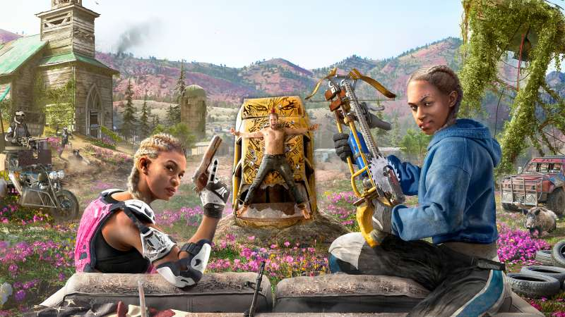 Far Cry New Dawn fond d'écran