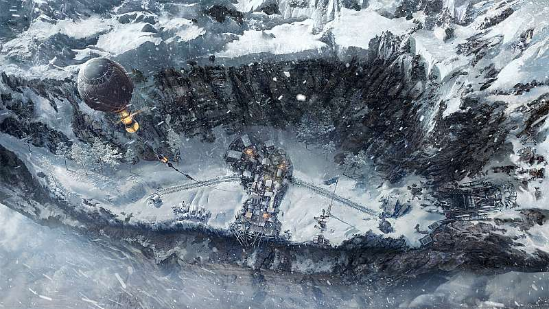 Frostpunk: On the Edge fond d'écran