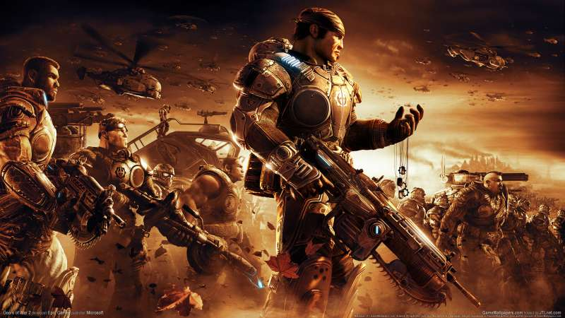 Gears of War 2 fond d'écran