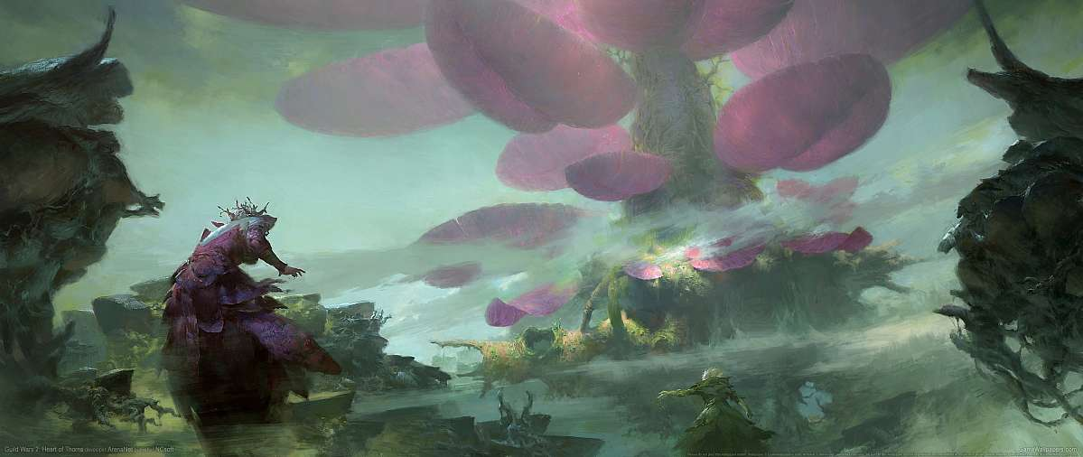 Guild Wars 2: Heart of Thorns fond d'écran