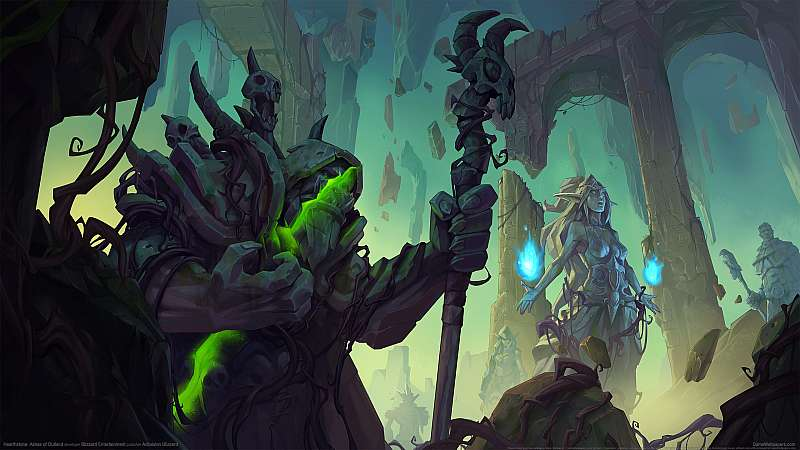 Hearthstone: Ashes of Outland fond d'écran