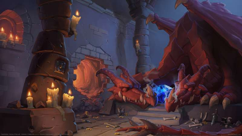 Hearthstone: Heroes of Warcraft - Kobolds & Catacombs fond d'écran 01