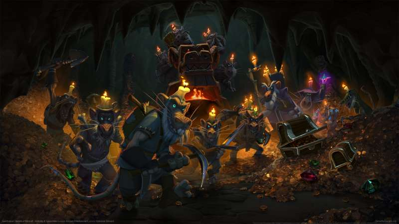 Hearthstone: Heroes of Warcraft - Kobolds & Catacombs fond d'écran 02