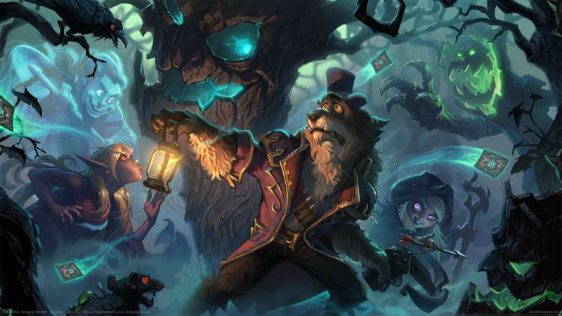 Hearthstone: Heroes of Warcraft - The Witchwood fond d'écran 01