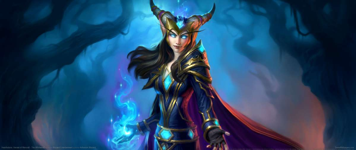 Hearthstone: Heroes of Warcraft - The Witchwood fond d'écran
