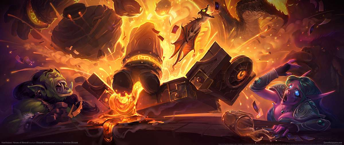 Hearthstone: Heroes of Warcraft fond d'écran