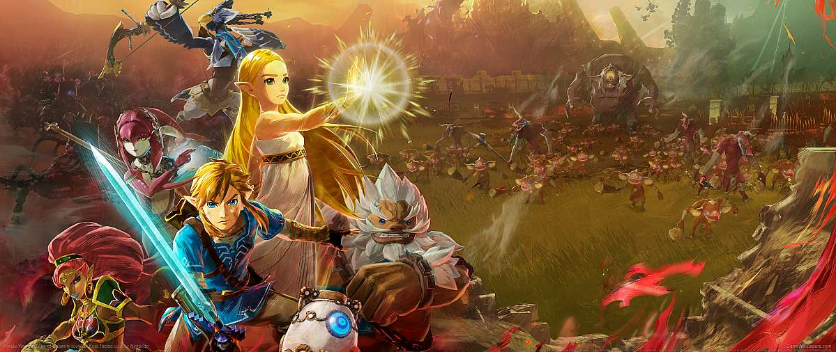 Hyrule Warriors: Age of Calamity ultrawide fond d'écran 01