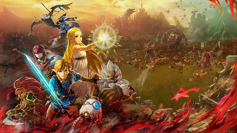 Hyrule Warriors: Age of Calamity fond d'écran