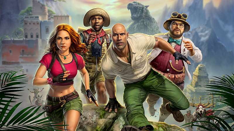 Jumanji: The Video Game fond d'écran