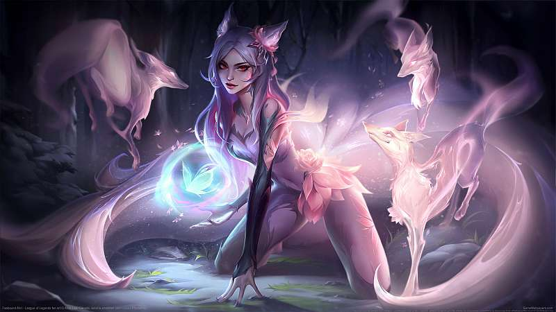 League of Legends fan art fond d'écran