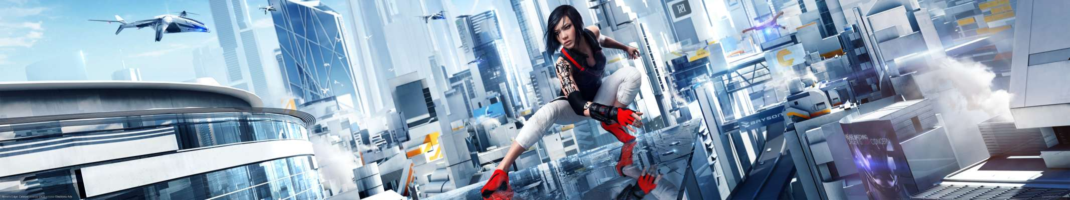 Mirror's Edge: Catalyst triple screen fond d'écran