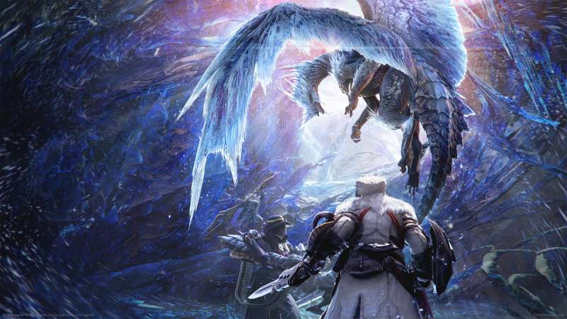 Monster Hunter World: Iceborne fond d'écran