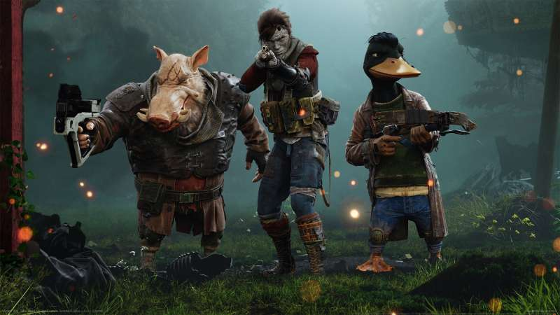 Mutant Year Zero: Road To Eden fond d'écran 01
