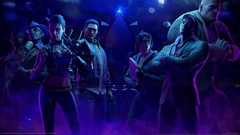 Saints Row: The Third Remastered fond d'écran