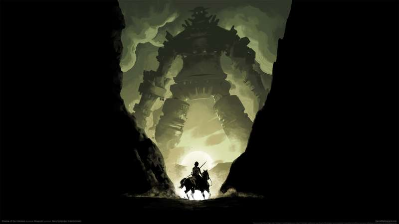 Shadow of the Colossus fond d'écran 02