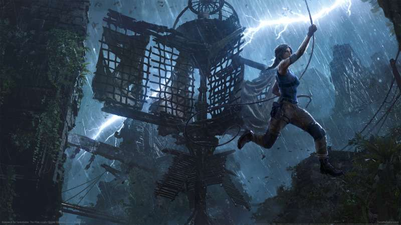 Shadow of the Tomb Raider: The Pillar fond d'écran