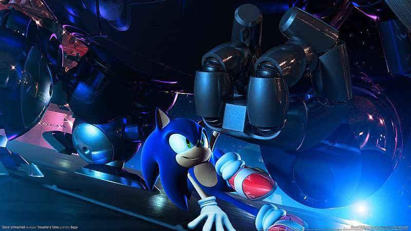 Sonic Unleashed fond d'écran