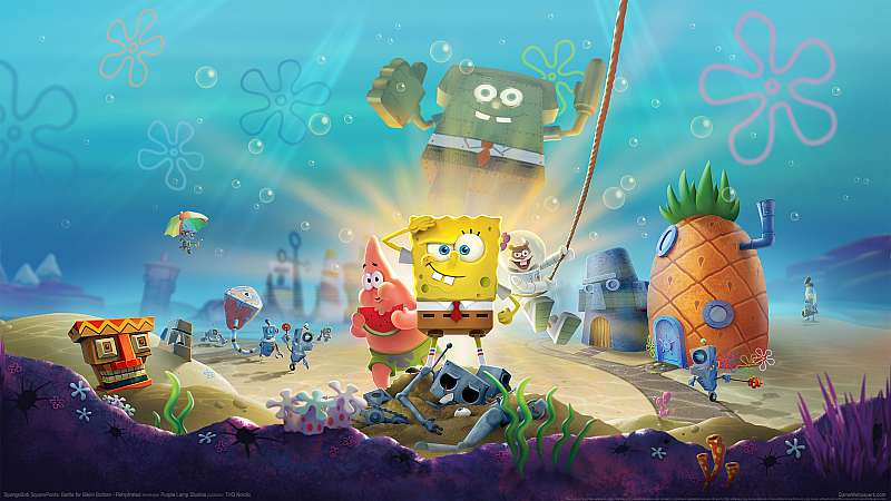 SpongeBob SquarePants: Battle for Bikini Bottom - Rehydrated fond d'écran