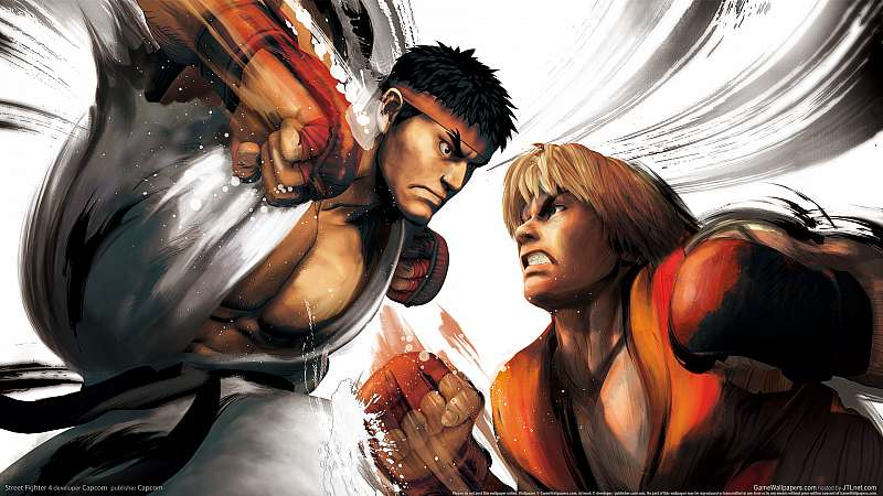 Street Fighter 4 fond d'écran