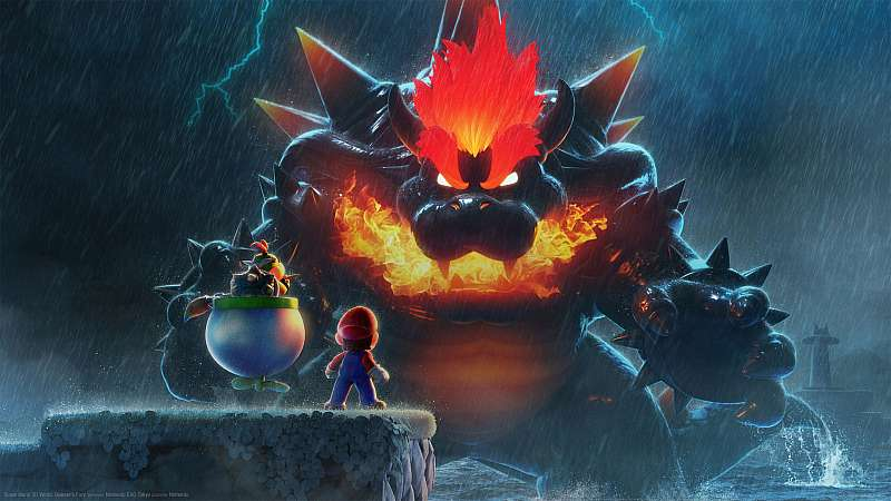 Super Mario 3D World: Bowser's Fury fond d'écran