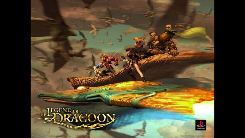 The Legend of Dragoon fond d'écran