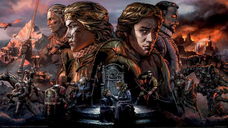 Thronebreaker: The Witcher Tales fond d'écran