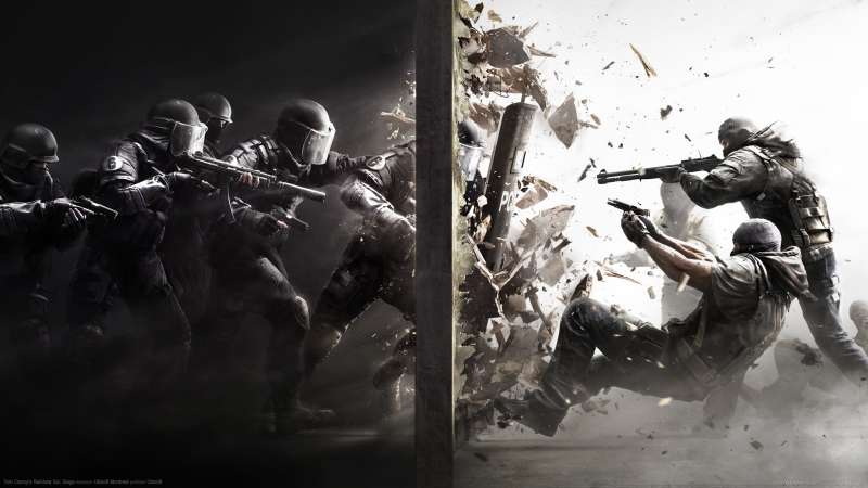 Tom Clancy's Rainbow Six: Siege fond d'écran 01