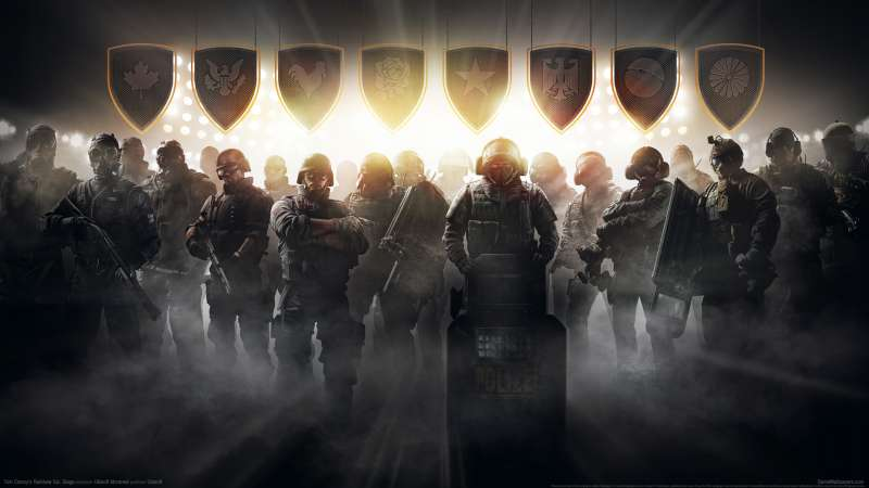 Tom Clancy's Rainbow Six: Siege fond d'écran 02