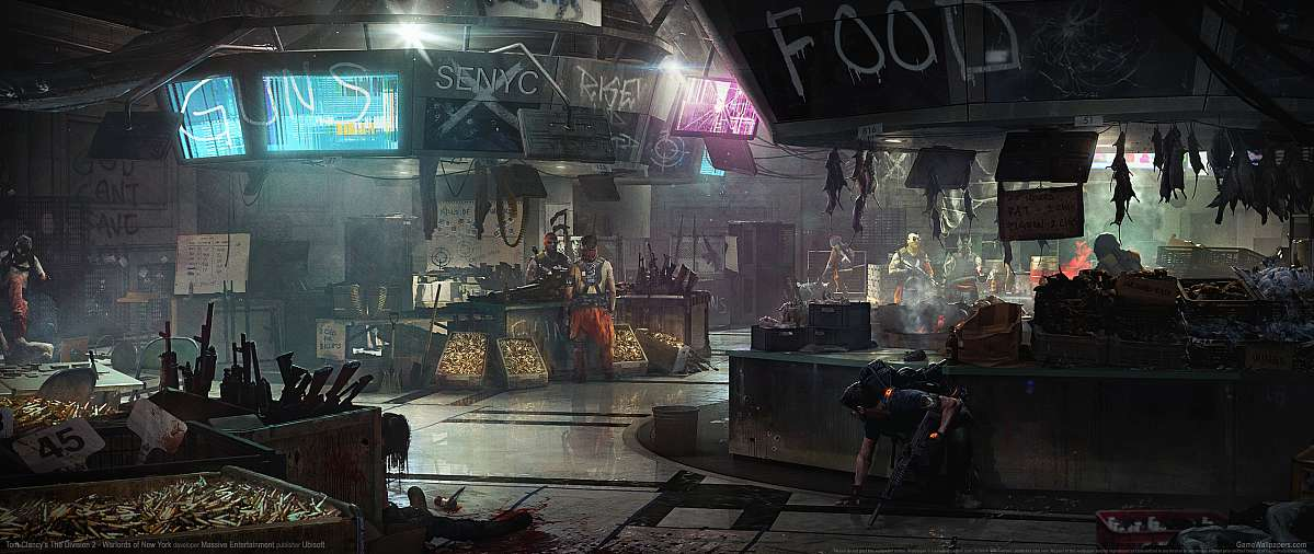 Tom Clancy's The Division 2 - Warlords of New York fond d'écran