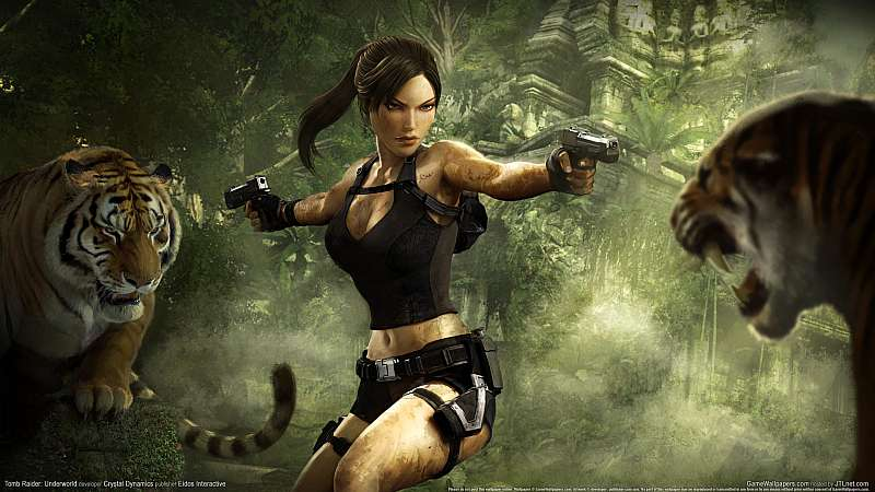 Tomb Raider: Underworld fond d'écran