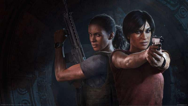 Uncharted: The Lost Legacy fond d'écran 01