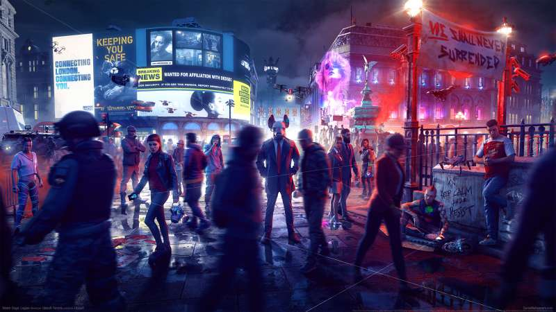Watch Dogs: Legion fond d'écran