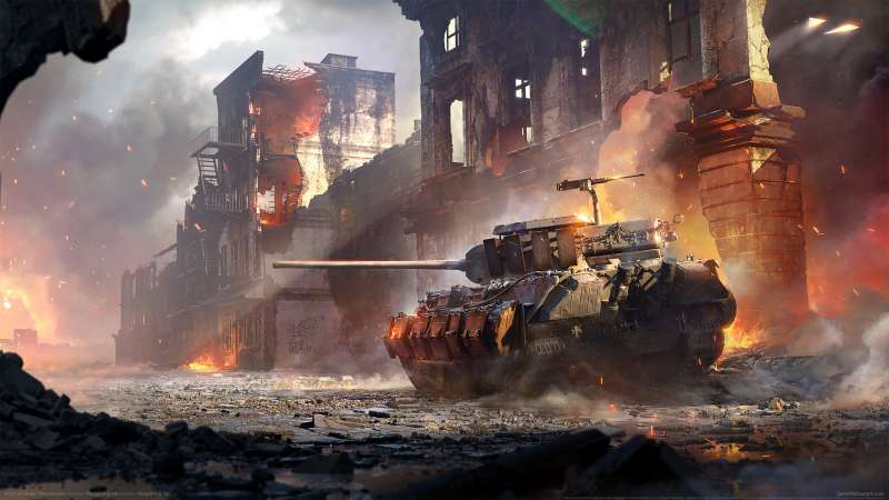 World of Tanks: Mercenaries fond d'écran