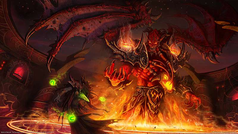 World of Warcraft: The Burning Crusade fond d'écran